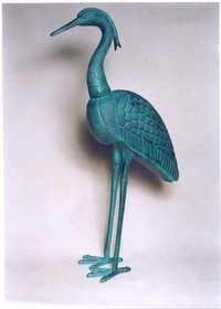 Aluminium Crane Sculpture