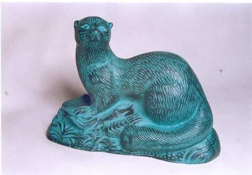 River Otter Sculpture