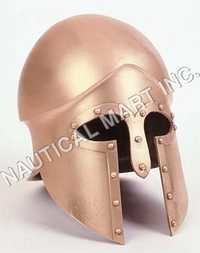 Corinthian Armour Helmet Copper Finish