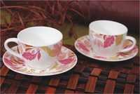 Bone China Cups And Saucers Sets