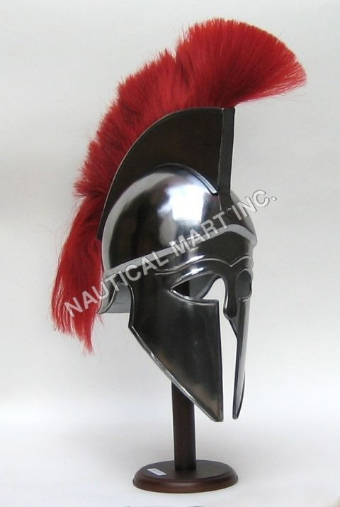 Corinthian Helmet Red Plume