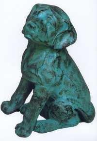 Dog Sculpture in Aluminium