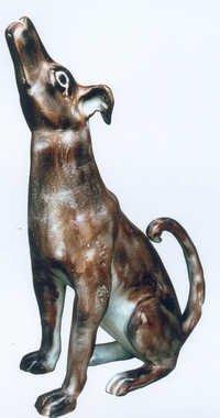 Aluminium Dog Sculpture