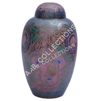 METAL DOME TOP CREMATION URN