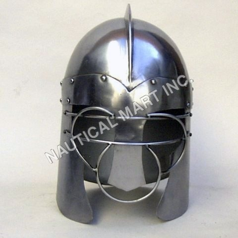 Antique Anglo-Saxon Armour Helmet