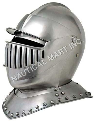 Medieval Knight Helmet Adult Size