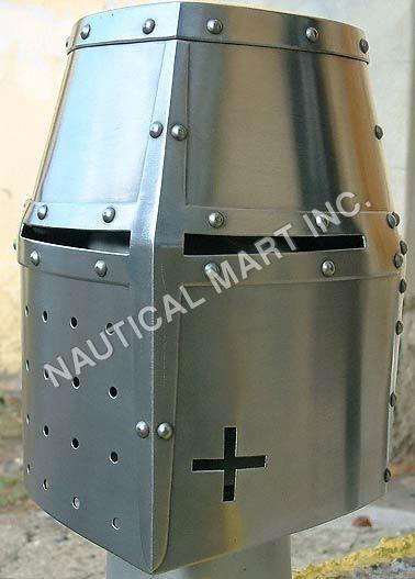 Crusador Steel Medieval Helmet