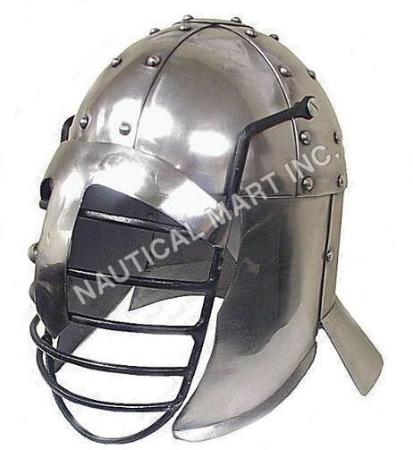 Grid Medieval Helmet