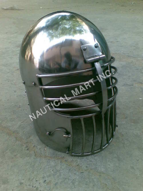 Medieval Armor Helmet Adults Size