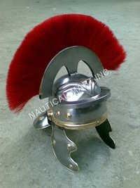 Roman Centurion Helmet Red Plume