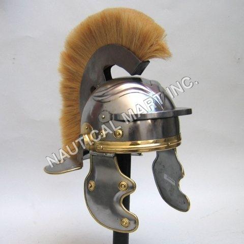 ARMOUR HELMET ROMAN CENTURIAN ADULT SIZE
