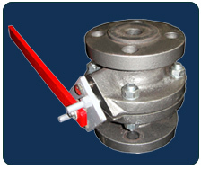 HDPE Lined Ball Valve