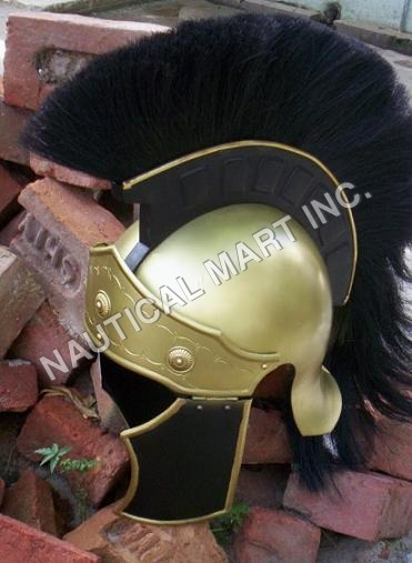 ARMOUR HELMET ROMAN GREECO ADULT SIZE