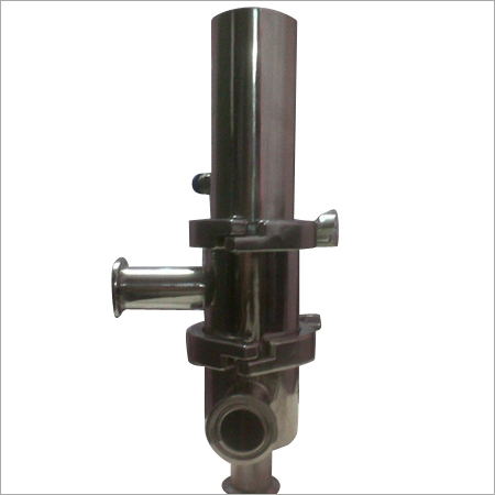 SS Pneumatic Flow Diversion Valve