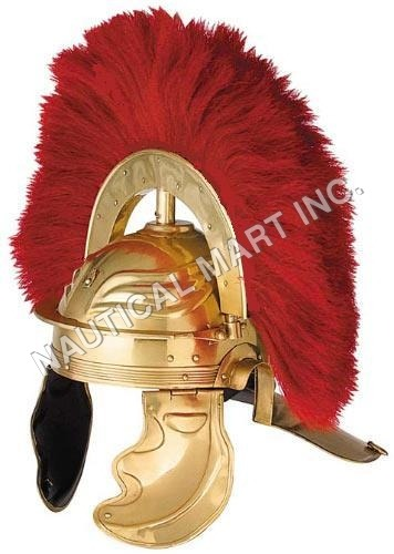 ARMOUR HELMET ROMAN GUARD IMPERIAL GALLIC  ADULT SIZE