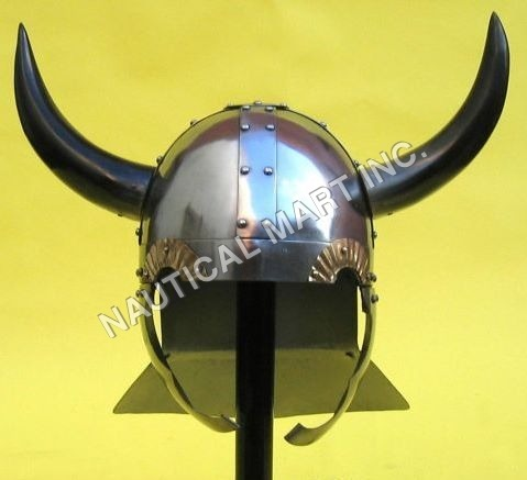 HORNED VIKING HELMET ADULT SIZE
