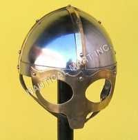 ARMOUR HELMET VIKING MASK DELUXE ADULT SIZE