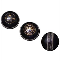 Purple Leather Cricket Ball