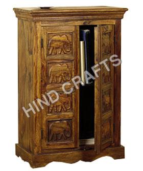 Sheesham Wooden Bedside