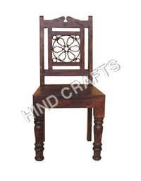 Wooden Chair with Jali