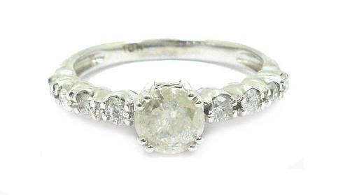 White Gold Bridal Rings