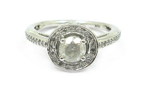 White Gold Diamond Bridal Rings