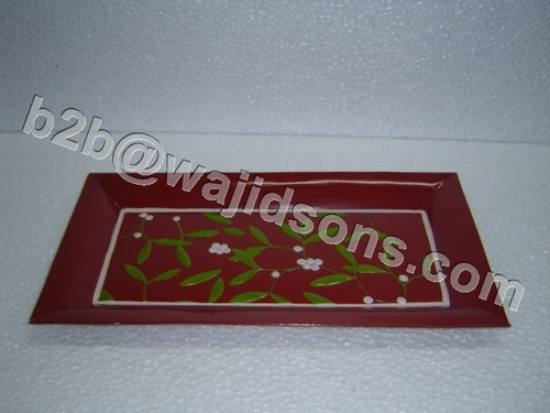 RECTANGLE TRAY HAND PAINTED