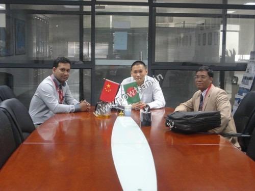 Bangladesh Visiting Partners in 2014