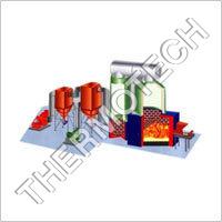 Husk Fired Thermal Fluid Heater
