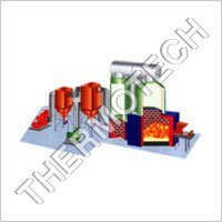 Husk Fired Thermal Fluid Heater