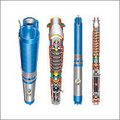 V6 Borewell Submersible Pump Redial Flow