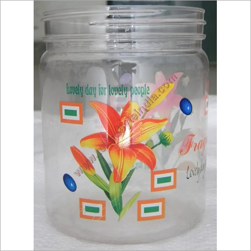 Printed Pet Jar