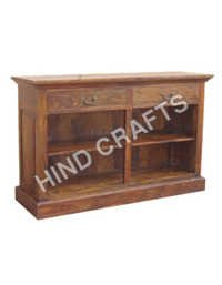 Wooden Cabinet with Rack