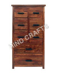 Wooden C D Cabinet