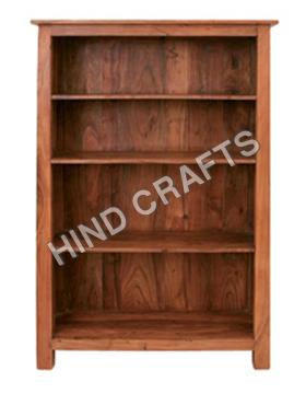 Handcrafted Wooden Bookshelf