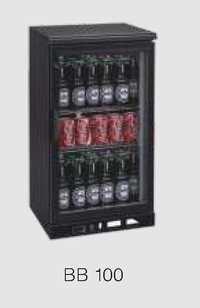 Back Bar Cooler Black Bb 100