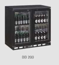 Back Bar Cooler Black Bb 200
