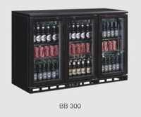 Back Bar Cooler Black Bb 300