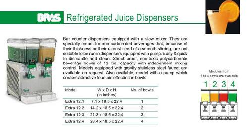 Refrigerated Juice Dispenser (Taylor And Bras)