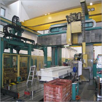 Portal milling machines