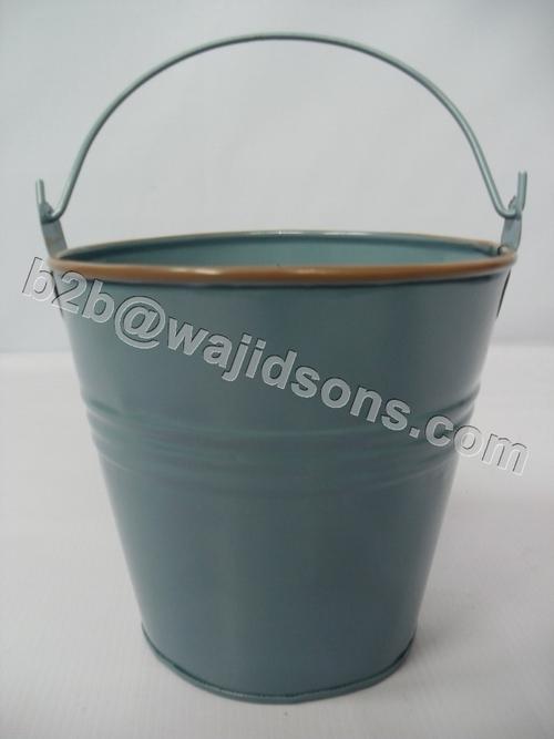 Clean Galvanized Buckets