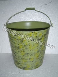 Galvanized Tin Buckets