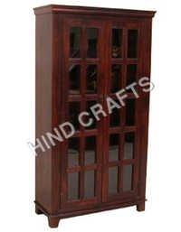 Wood Glass Cabinet