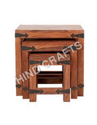 Wood Nesting Table
