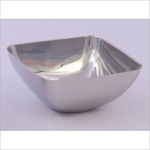 Square Steel Bowl