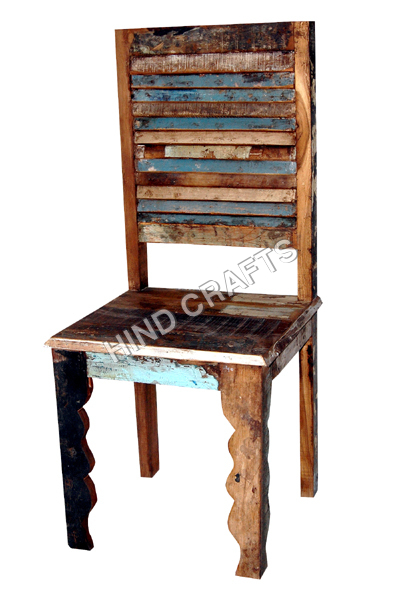 Wooden Recycle Chair