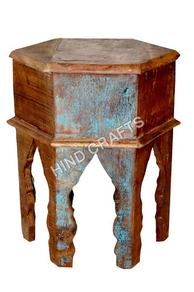 Wooden Recycle stool