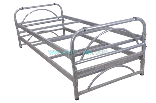Double cot with folding