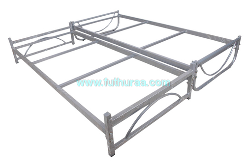 Double cot with folding MS