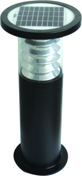 Charmant Solar Bollard Garden Light